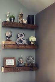 decorate office shelves wall shelves design best floating wall shelves decorating ideas