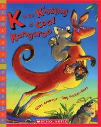 k is for kissing a cool kangaroo giles andreae guy parker rees