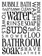 Bathroom Art Printables Shopping For Subway Art From Our Idea Gallery It U0027s A Sign