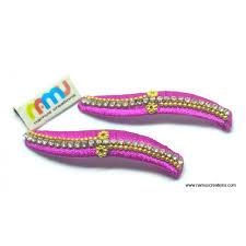 combination silk thread hair clips