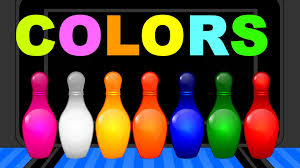 learn colors with colors bowling game nursery children learn