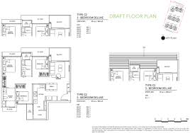 Plan 3 by Inz Ec Floor Plan Brochure The Inz Residence Floor Plans U0026 Site Plan