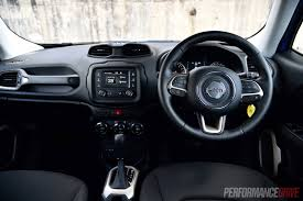 jeep interior 2016 jeep renegade longitude review video performancedrive