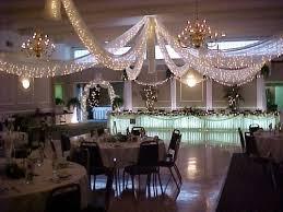 tenture plafond mariage deco de salle décoration forum mariages net