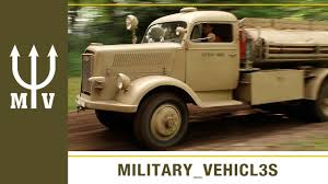 opel blitz ww2 german opel blitz firetruck youtube