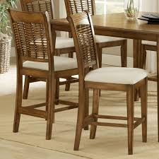 Counter Chairs Hillsdale Bayberry 24 Inch Non Swivel Counter Stool Oak Set Of