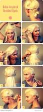 boho inspired braided updo tutorial http www latest hairstyles
