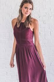 elegant mind burgundy maxi dress bella ella boutique online store