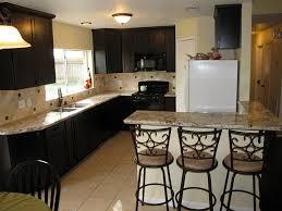 Kitchen Paint Ideas With Dark Cabinets by Kitchen Best Paint Color For Kitchen With Dark Cabinets Orange