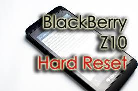 reset hard blackberry z10 blackberry z10 hard factory reset security wipe youtube