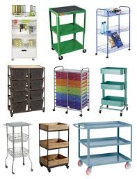 Bathroom Storage Cart by Storage Where You Need It Rolling Utility Carts Room Kitchen