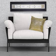 shh interiors gold glitter cushion 45cm x 45cm cushions from