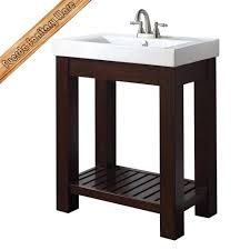 hotel bathroom vanity free standing solid wood bathroom vanity top