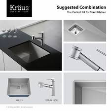 where is the aerator on a kitchen faucet kitchen faucet kraususa com