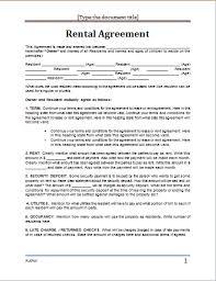 doc 409531 rental contract template word u2013 20 rental agreement