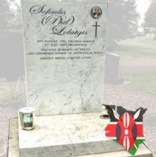 marble headstones marble memorials memorials kenya