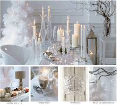 decorations white christmas home decoration idea come with white