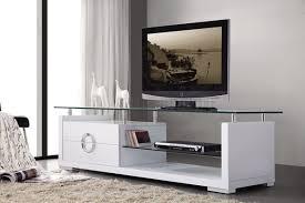 briliant wood veneer elegant tv stand with 2 shelves anchorage