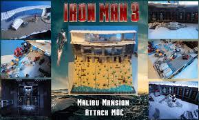 iron man malibu house lego iron man 3 malibu mansion moc youtube