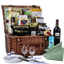 Picnic Gift Basket Beautiful Combination Gift Baskets The Gift Planner Llc