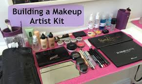 i need a makeup artist building a makeup artist kit