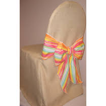 burlap chair covers burlap chair covers and sashes