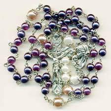 purple rosary amethyst rosary ebay
