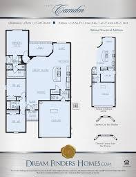 camden floor plan camden dream finders homes