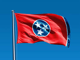 Blue Flag With Yellow Circle Tennessee Flag Colors Meaning And History Of The State Flag Of