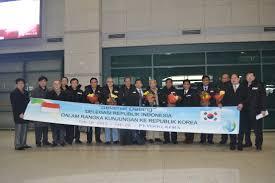 indonesia and south korea agree to develop e government be korea