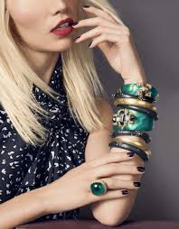 stacking bracelets trendspotting stacked bracelets galleria dallas