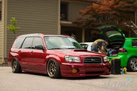 subaru forester stance 1999 sf5 subaru forester 5000 million dollar project