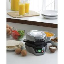Hamilton Beach Countertop Breakfast Burrito Maker Breakfast