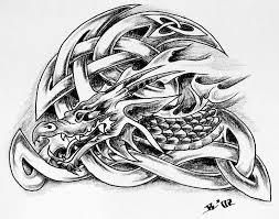 17 best dragon celtic tattoos for men images on pinterest celtic