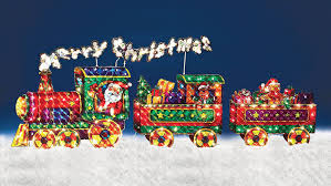 Animated Outdoor Christmas Decorations by Christmas Train Decoration Christmas Lights Decoration