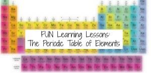 Learning The Periodic Table Homeschool Learning Discovering U0026 Understanding The Periodic