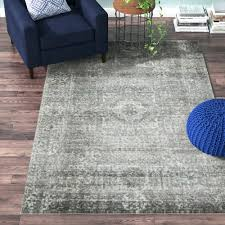 Brown And Grey Area Rugs Blue And Grey Area Rug Getexploreapp