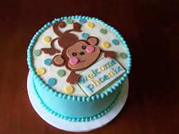 monkey baby shower cake decoration ideas parties pinterest
