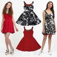 reversible twirly dress juniors teens chic classic
