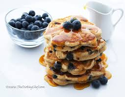 whole wheat blueberry pancakes dieting with chef meg r d