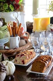 thanksgiving continental breakfast vignette continental breakfast