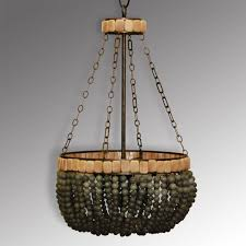 decor stylish repair turquoise beaded chandelier with iron wire
