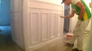paint chair rails u0026 wainscoting haussmann style youtube
