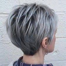 pictures of grey hair with lowlights pictures of gray hair with black lowlights hairstyle