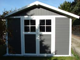 abris de jardin resine installer un kit d ancrage grosfillex pour un abri de jardin pvc