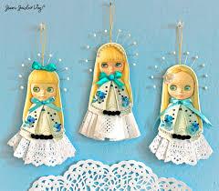artist loft free papercraft blythe ornaments