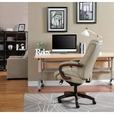 Computer Desk Chairs For Home Beige Office Chairs Home Office Furniture The Home Depot