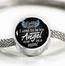 pandora style charm bracelet images Daddy 39 s girl pandora style charm bracelet oxytee png