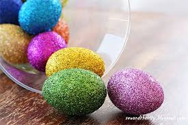 glitter easter eggs glitter easter eggs 15 easter crafts activities and treats for