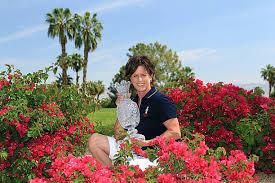 2011 solheim cup captain rosie jones portrait sessionの